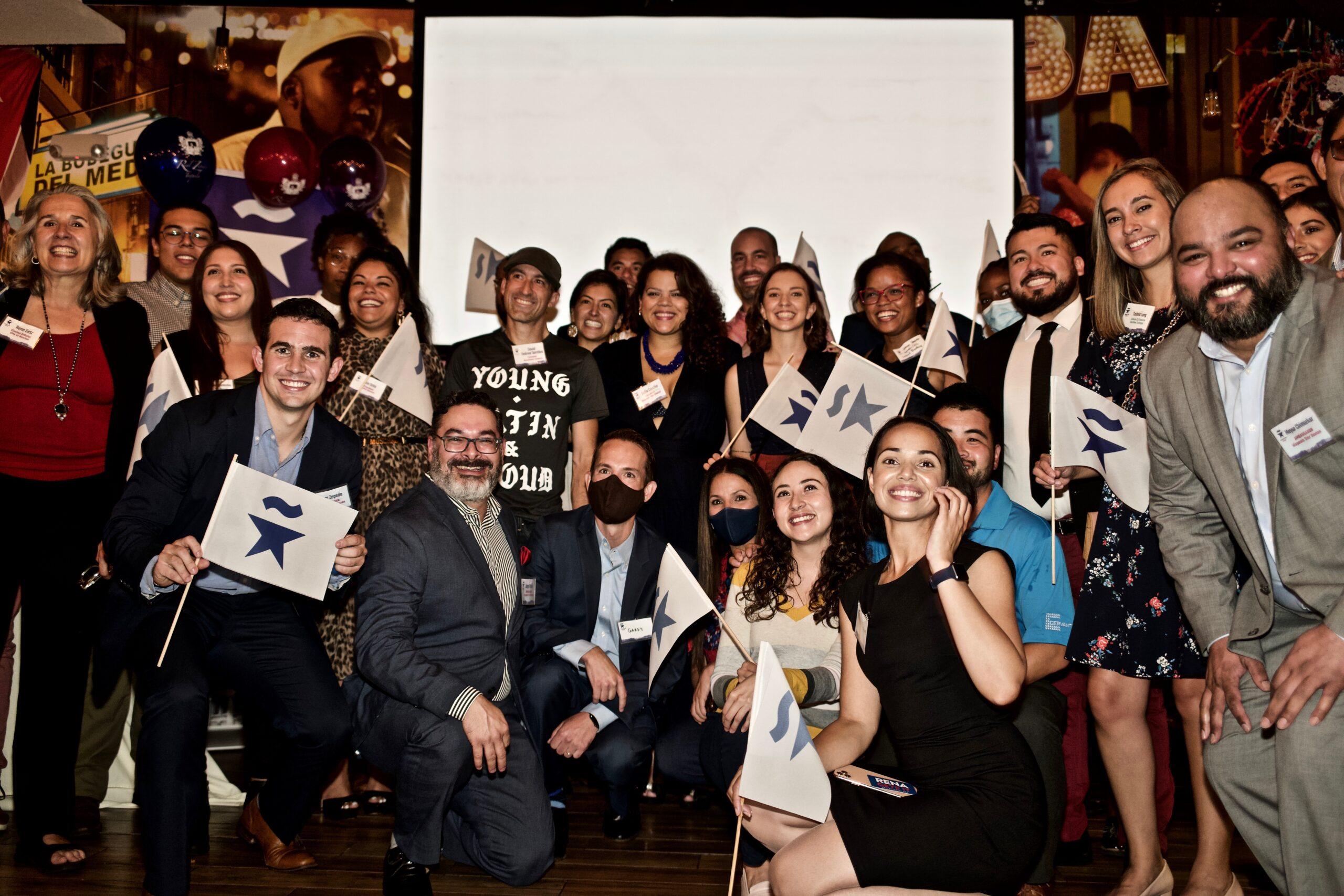Rena Getz at Hispanic Promise Event